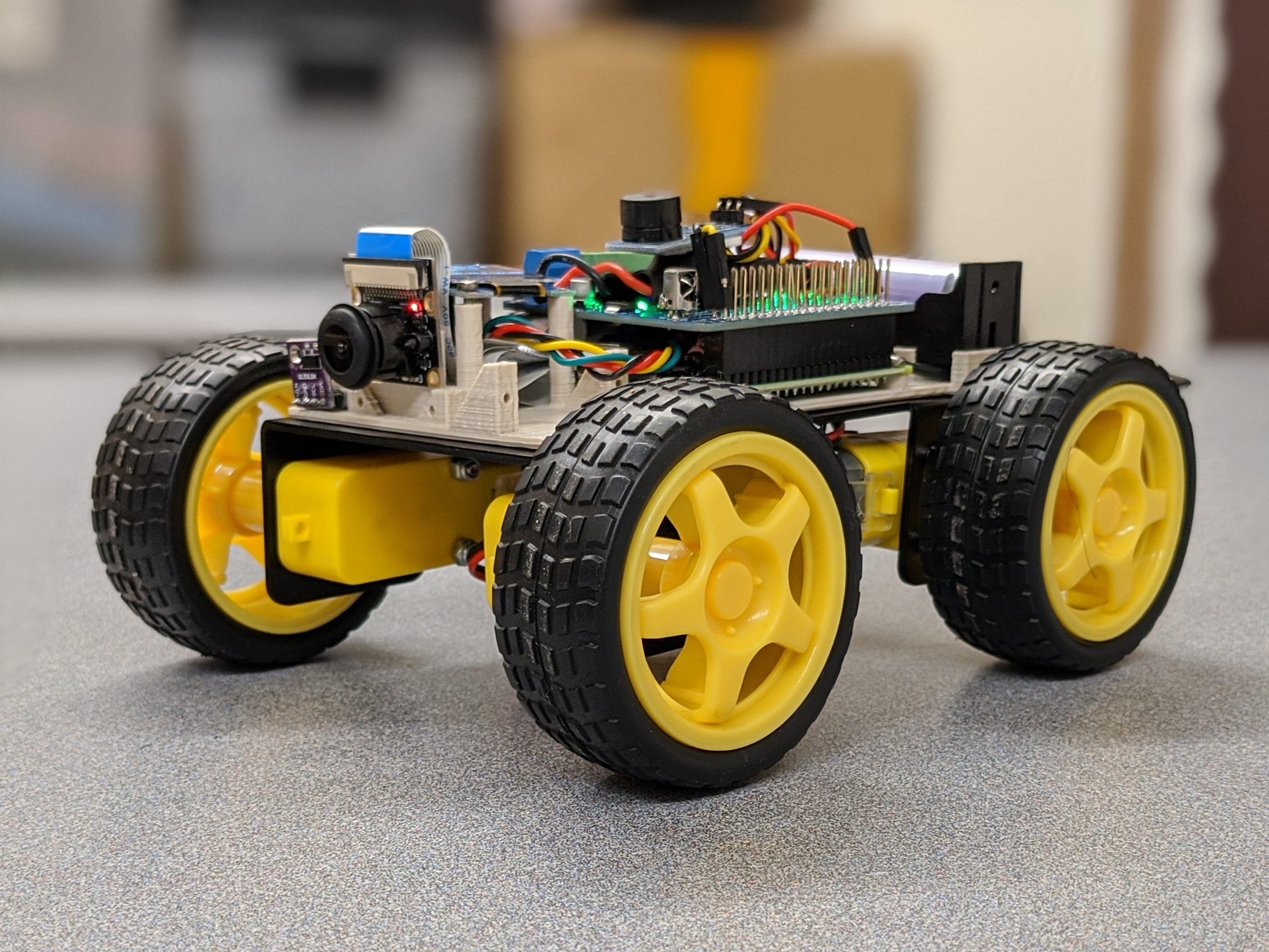 Completed Version Of The Raspberry Pi Car