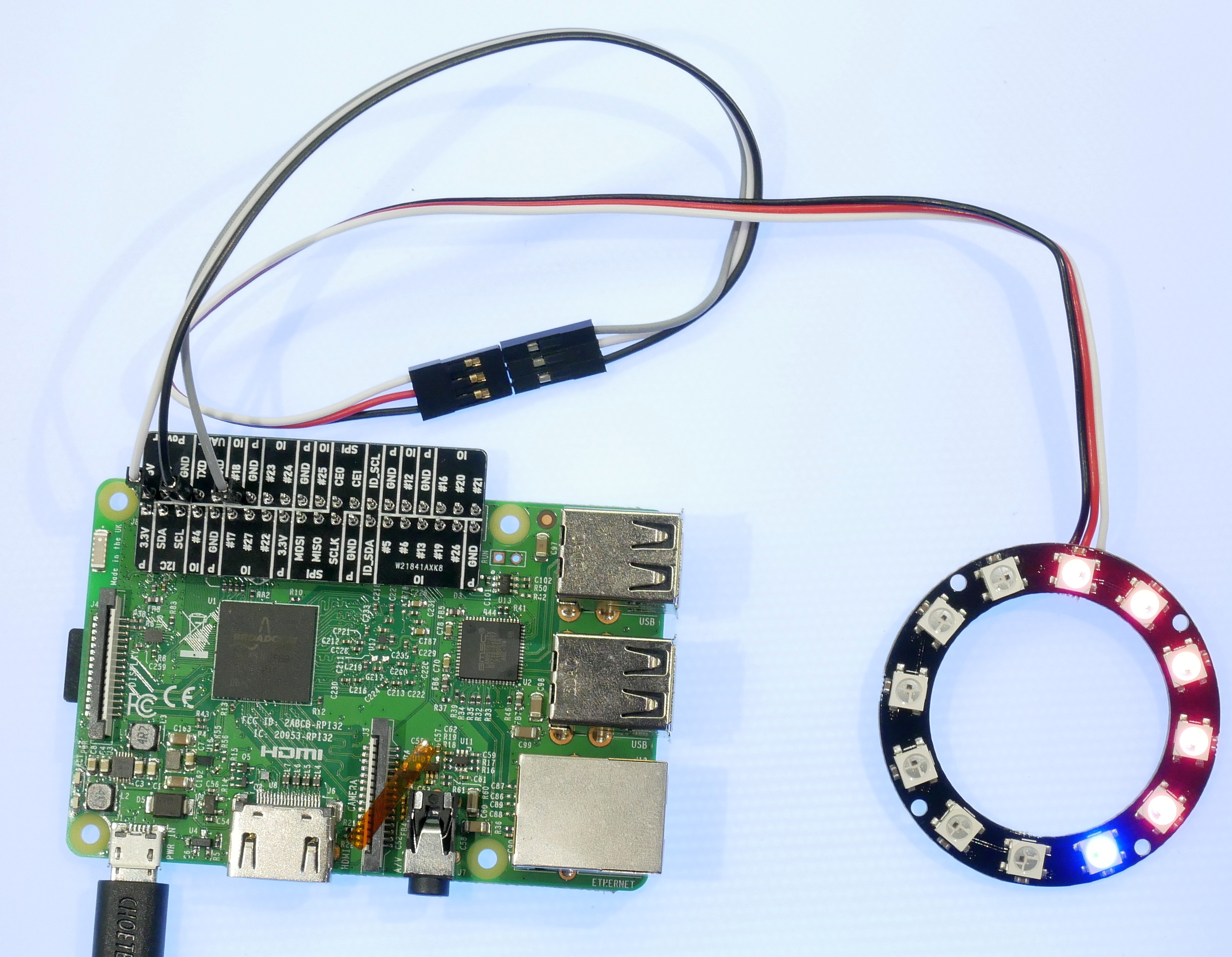 Python Led Ring Clock Ws2812 T Alliance Teaching Through Technology Using Pic Microcontroller