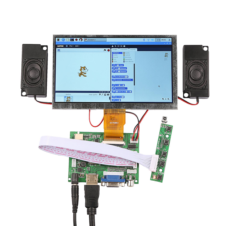 LCD Setup 7″ 1024×600