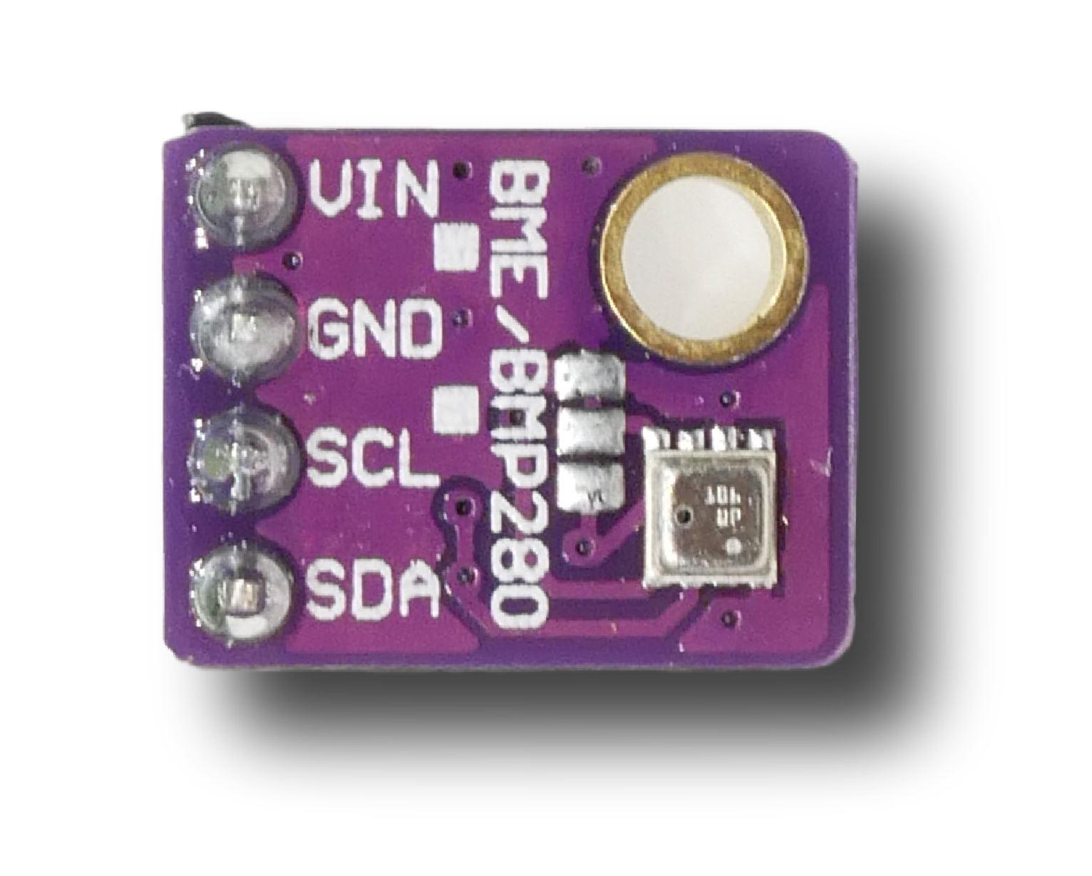 RPi Node-Red: BME280 Temperature Pressure Humidity