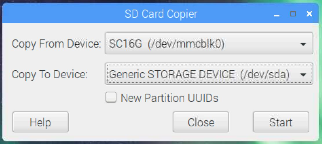 RPi Download Image Custom SD Card Creation Process – T³