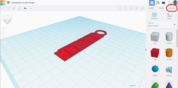 Share TinkerCAD design
