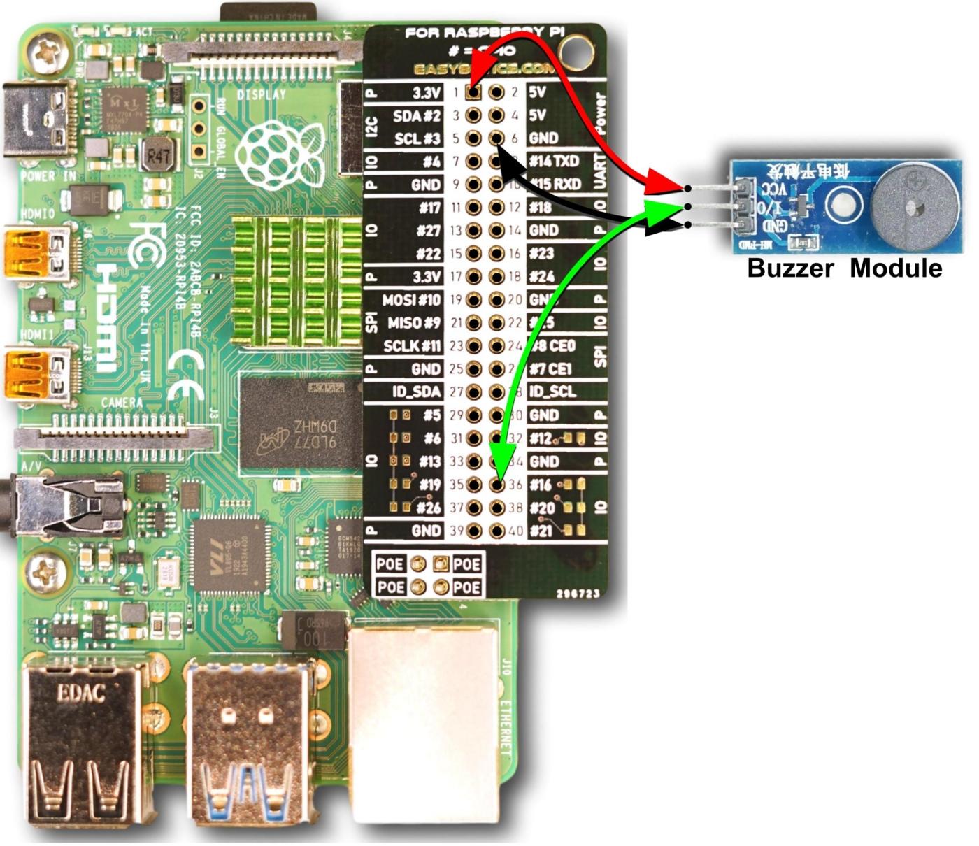Wiring Diagram Buzzer